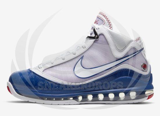 NIKE LEBRON 7 Baseball Blue DJ5158 100 7