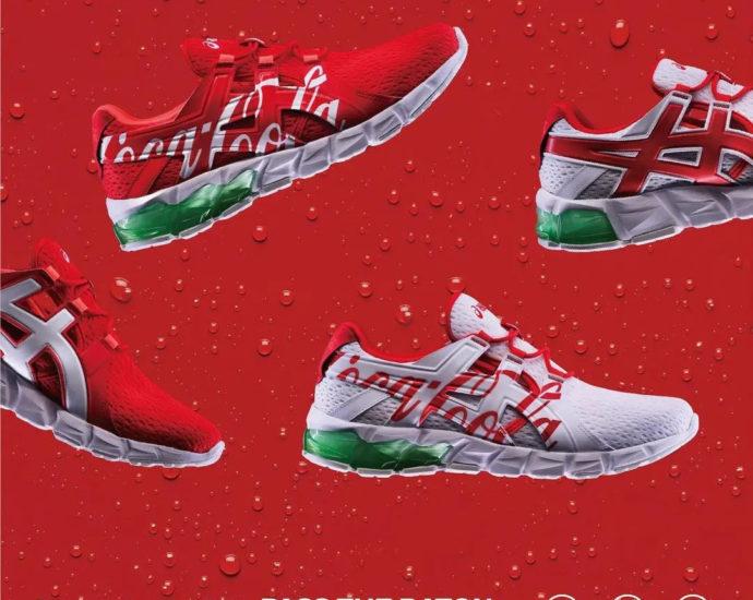 Coca-Cola x ASICS GEL-QUANTUM 90
