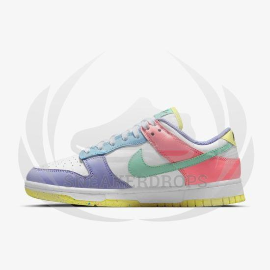 DD1872 100 Nike Dunk Low SE Easter 5