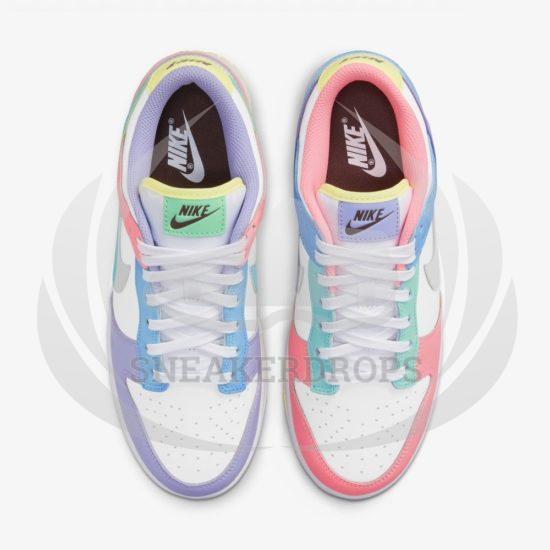 DD1872 100 Nike Dunk Low SE Easter 7