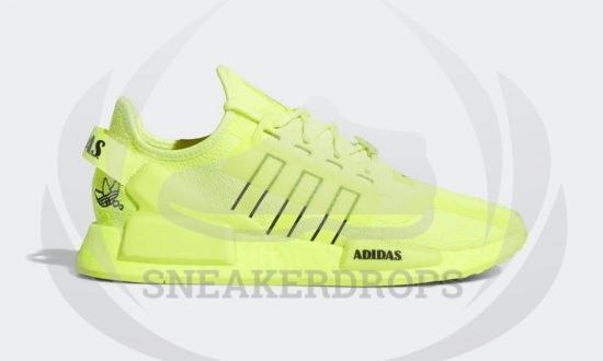 adidas nmd r1 v2 solar yellow black white h02654 01