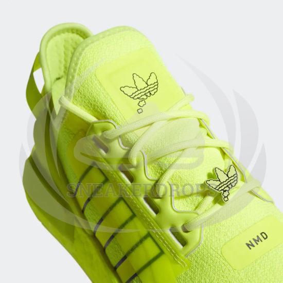 adidas nmd r1 v2 solar yellow black white h02654 02