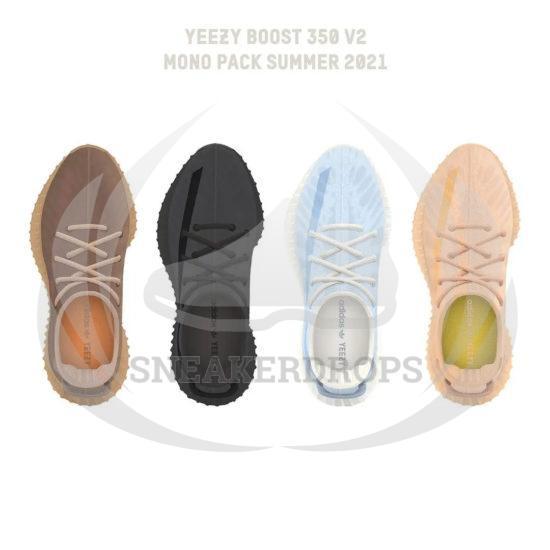 YEEZY BOOST 350 V2 - Mono Pack