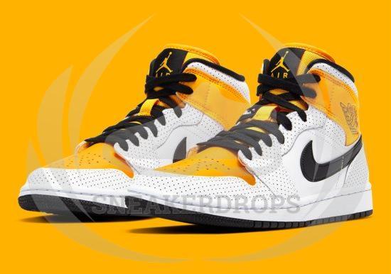 Jordan 1 Mid Laser Orange