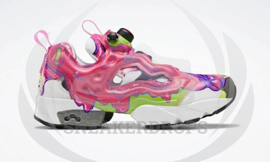 Ghostbusters x REEBOK INSTA PUMP FURY Slime H03295 02
