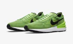 NIKE WAFFLE ONE Electric Green DA7995 300 01 1