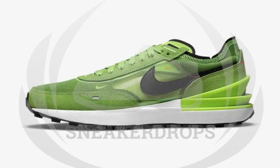NIKE WAFFLE ONE Electric Green DA7995 300 02