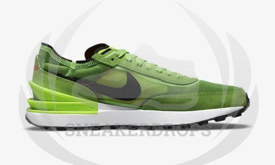 NIKE WAFFLE ONE Electric Green DA7995 300 03
