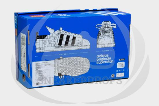 Lego Adidas Originals Superstar Kit - 10282